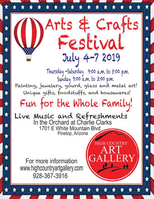 2019 Fourth of July Arts and Crafts Festival