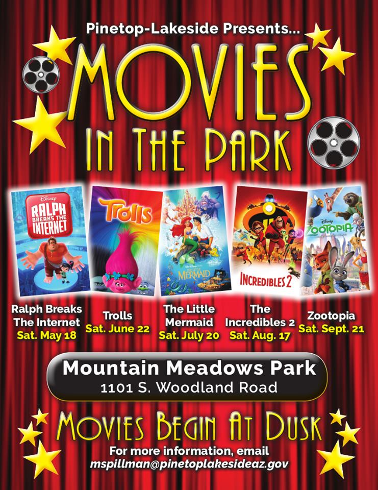 Pinetop-Lakeside Movies in the Park