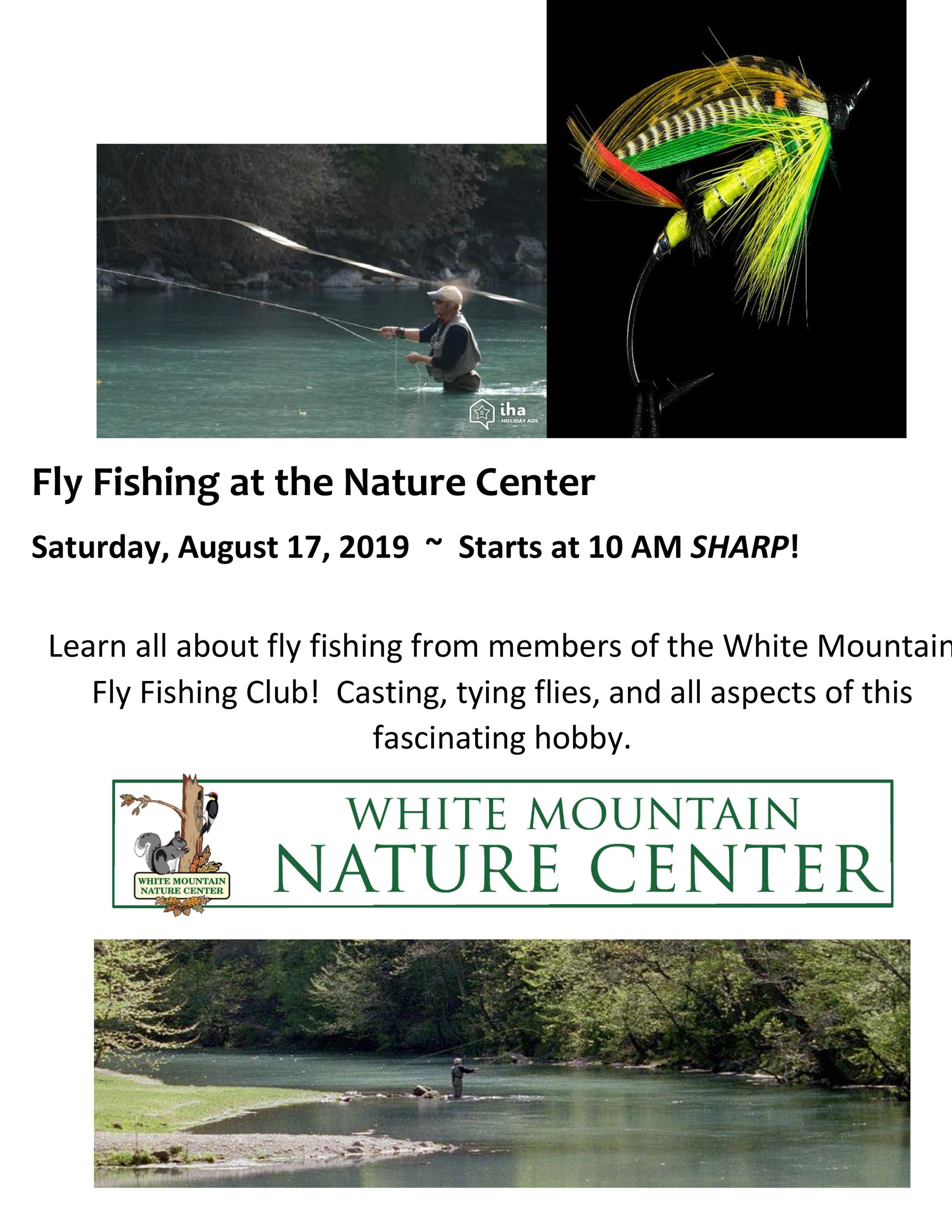 081719 Fly Fishing Nature Center