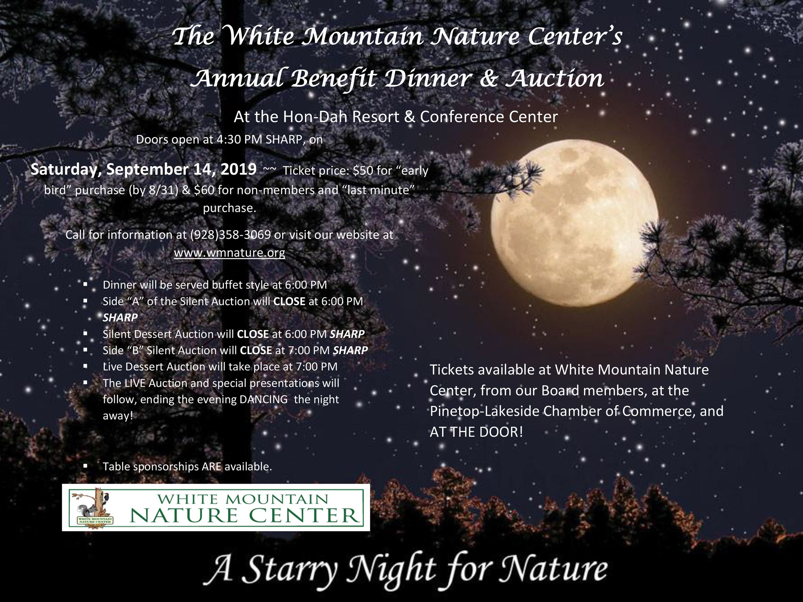 White Mountain Nature Center Starry night