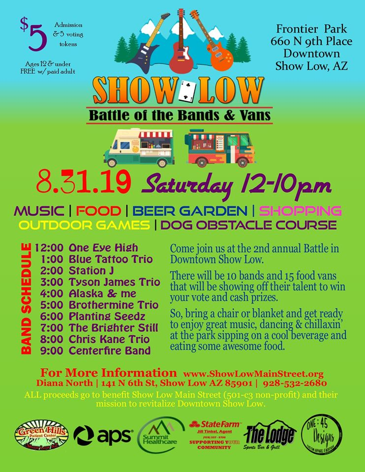 Show Low Battle of the Bands