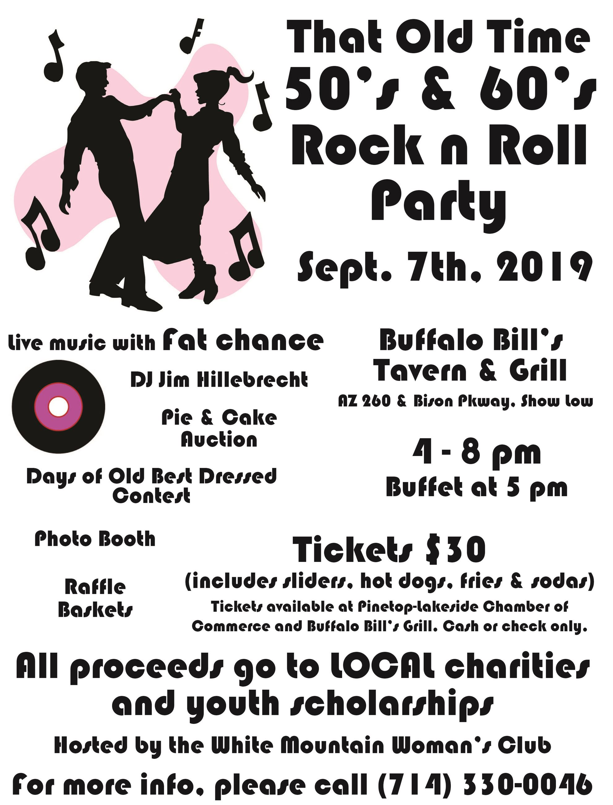 WMWC 50s 60s Party 2019