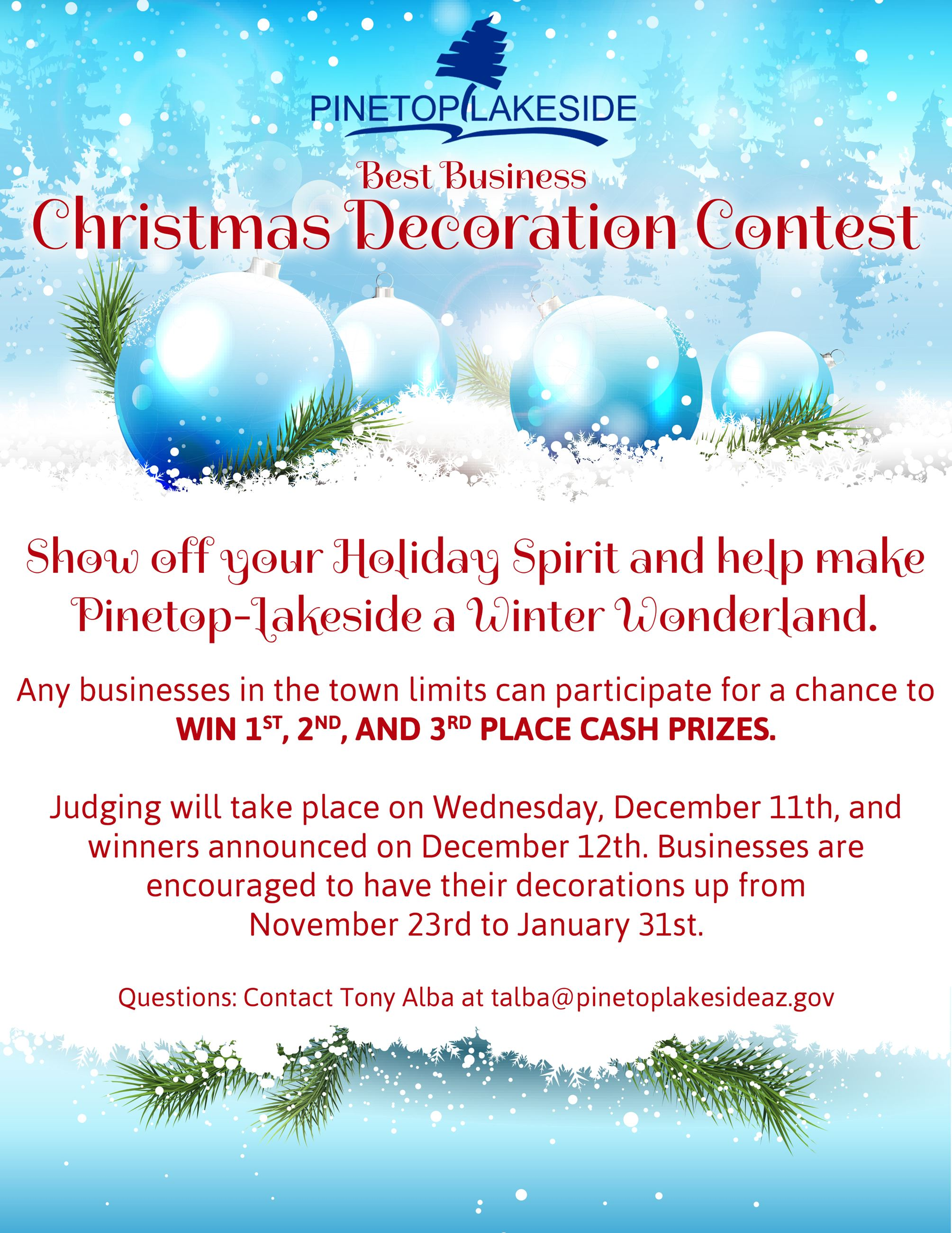 Christmas Decoration Contest 2019