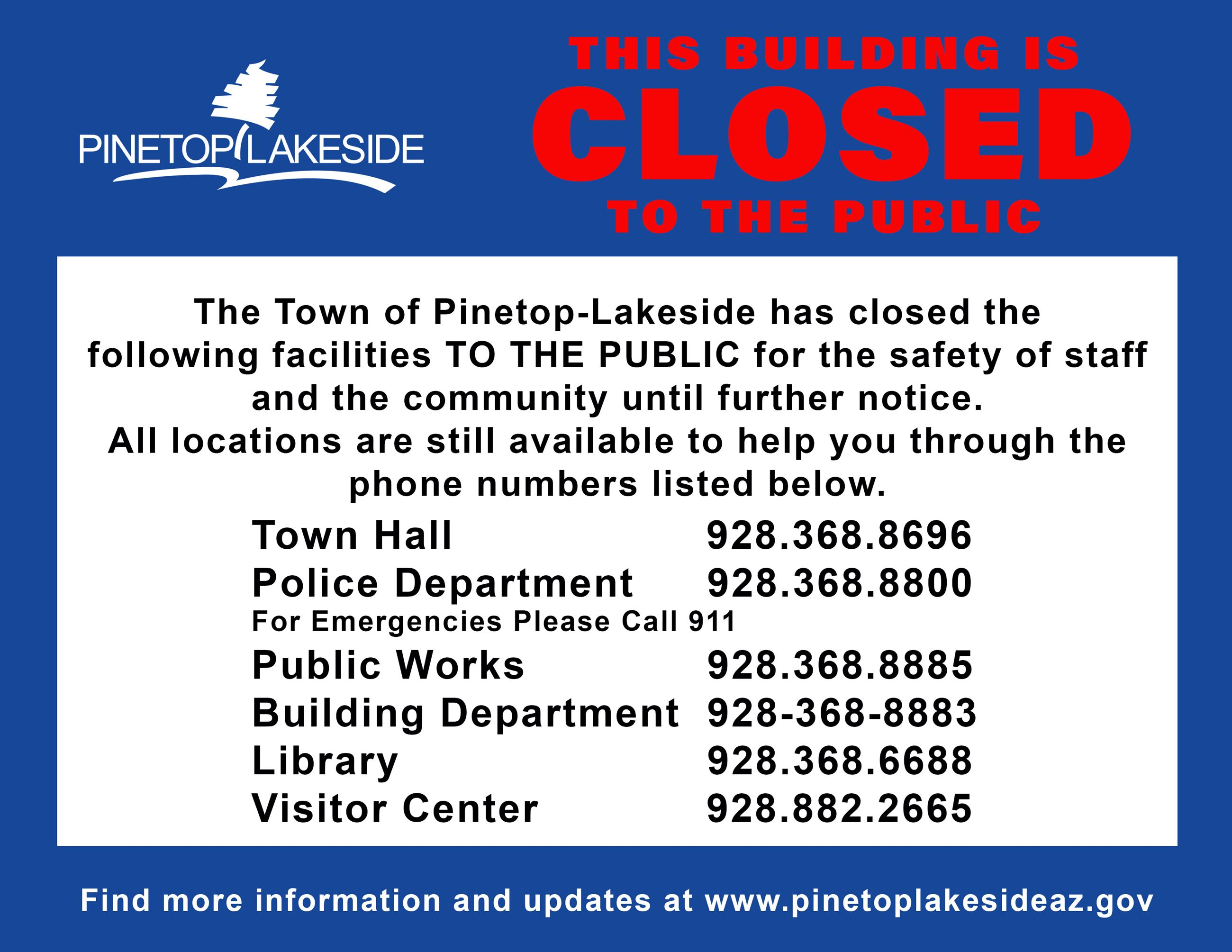 PL Facilities Closed Notice_V2