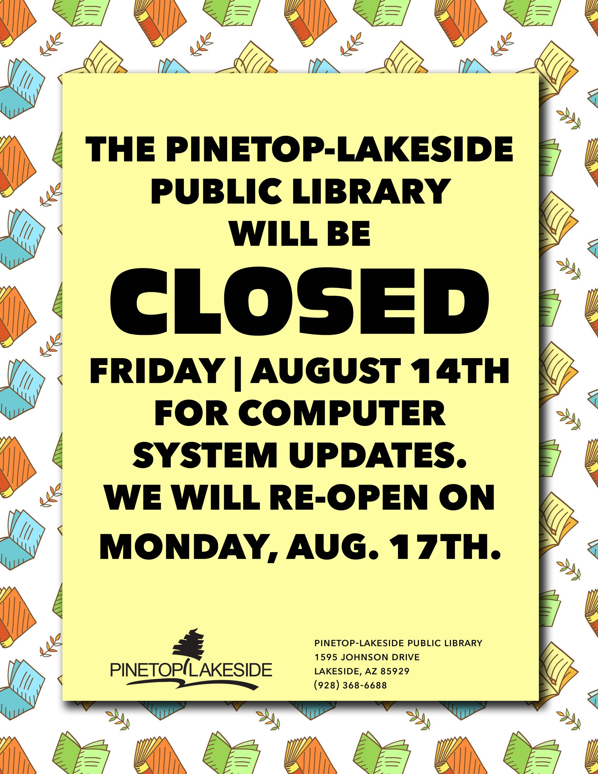 PL Library Closure