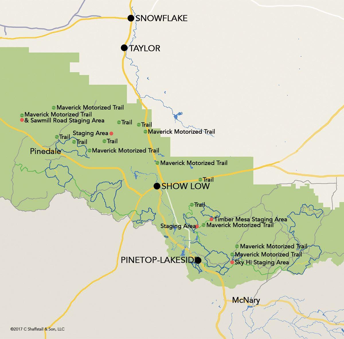 Motorized Trail Riding | Pinetop-Lakeside, AZ