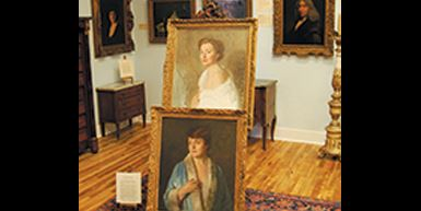 Paintings on Display
